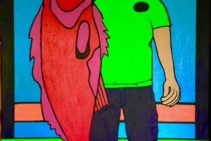 The Big Fish Acrylic 24 x 36