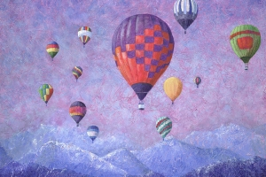 Ballooning over Virgin Mountain