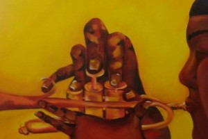 trumpet hands